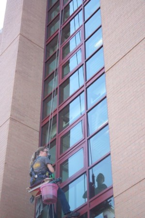 Cleaning Windows, Knoxville, Summer of 2013