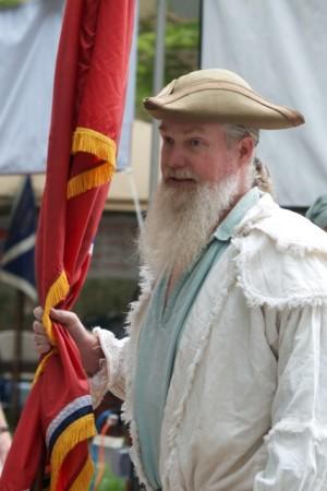 East Tennessee History Fair, Krutch Park, Knoxville, August 2013 (Photo Courtesy of Daniel Taylor)