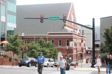 Jaywalking in Nashville, July 2013