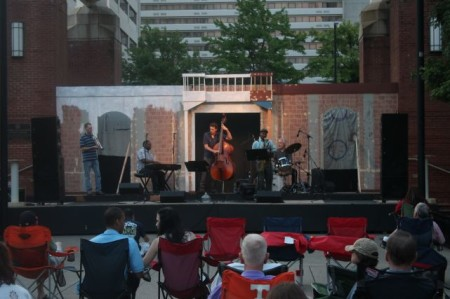 Jazz on the Square on the Shakespeare, Market Square, Knoxville, Summer 2013