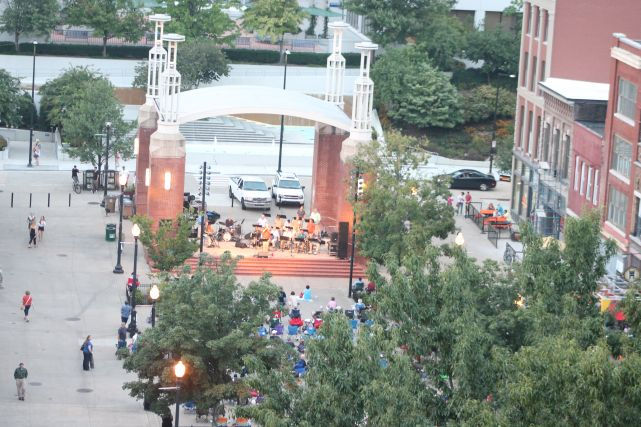 Outdoor Free Jazz Comes to an End for the Season