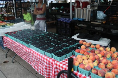 Market Square Farmers' Market, Knoxville, Summer 2013