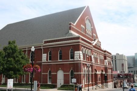 Ryman Auditorium, Nashville, July 2013