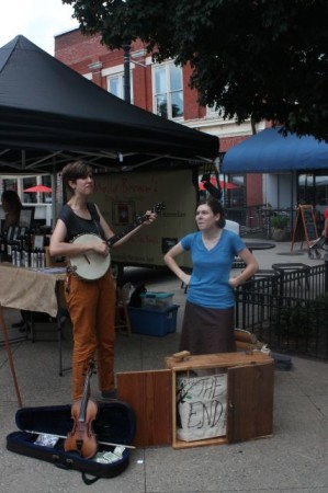 The New Young Fogies, Market Square, Knoxville, Summer of 2013