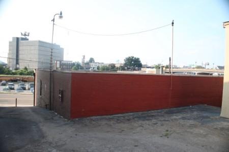 Back View of Proposed Destination Restaurant, Jackson Avenue, Knoxville, September 2013