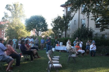 Fort Sanders Homecoming, James Agee Park, Knoxville, September 2013