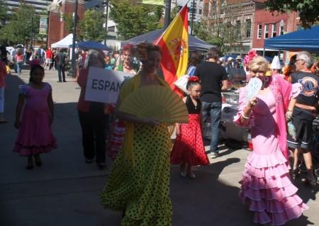 Hola Festival13, Market Square, Knoxville, September 2013