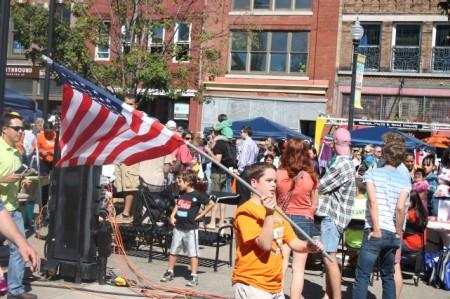 Hola Festival5, Market Square, Knoxville, September 2013