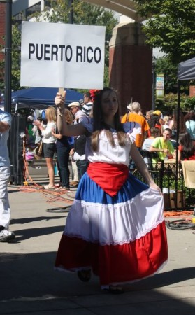 Hola Festival, Market Square, Knoxville, September 2013