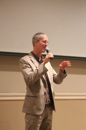 Jeff Speck at the Ageless Downtowns Symposium, East TN History Center, Knoxville, September 2013