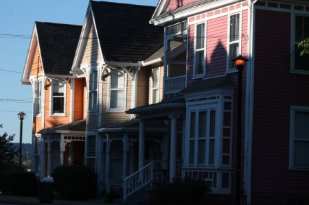 Knoxville's Rainbow Row, Eleventh Street, Knoxville, September 2013