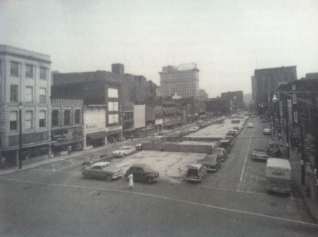 Market Square, 1960, View of 32 Market Square on the Left