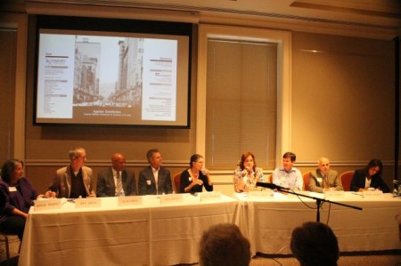 Panel at the Ageless Downtowns Symposium, East TN History Center, Knoxville, September 2013