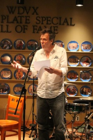 RB Morris Reads New Poetry, WDVX, Knoxville Visitor's Center, September 2013