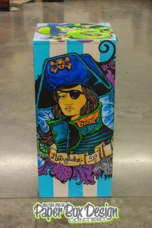 Rococo Paper Box Design, Knoxville, September 2013