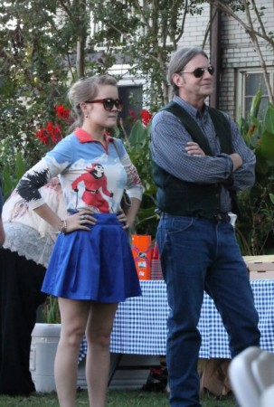Sarah and Charlie, Fort Sanders Homecoming, James Agee Park, Knoxville, September 2013