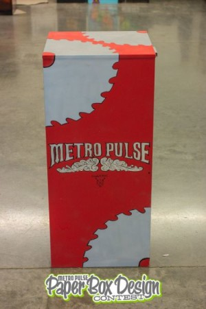 Saw Works Paper Box Design, Knoxville, September 2013