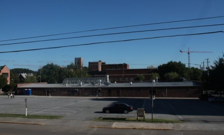 Surface Parking Lot near White Avenue, Knoxville, September 2013