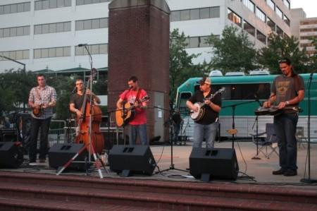 WDVXtravaganza on Market Square, Knoxville, September 2013