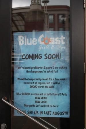 Blue Coast Burrito, 35 Market Square, Knoxville, October 2013