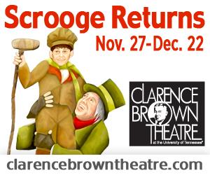 "Clarence Brown presents ""A Christmas Carol"""