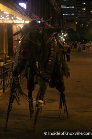 Creature, Market Square, Knoxville, October 2013