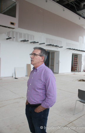 David Butler, Director of the Knoxville Museum of Art, October 2013
