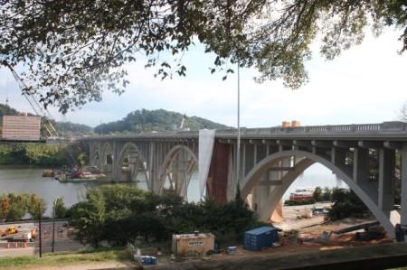 Henley Street Bridge, Knoxville, October 2013