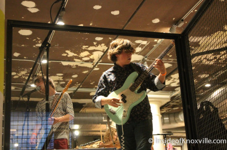Band Plays the Urban Outfitter's Grand Openig, Knoxville, 2013
