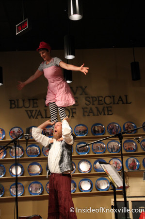One World Circus, WDVX Kid Stuff, Knoxville,