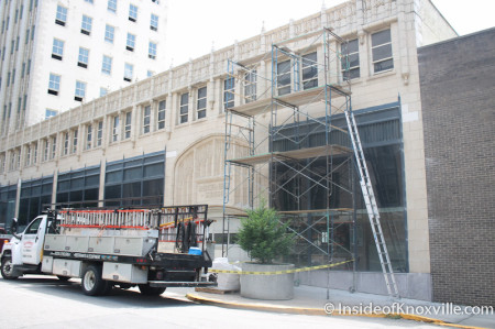 Medical Arts Building Renovations, Knoxville, Summer 2013