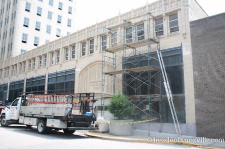 Medical Arts Building Renovations, Knoxville, Summer 2013