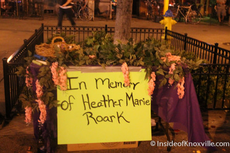 Memorial on Market Square, Knoxville, Summer 2013