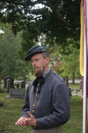 Lantern and Carriage Tour, Old Gray Cemetery, Knoxville, September 2013