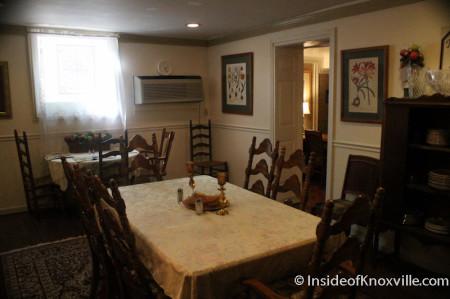 Dining Room, Maplehurst Inn, 800 West Hill Avenue, Knoxville, October 2013