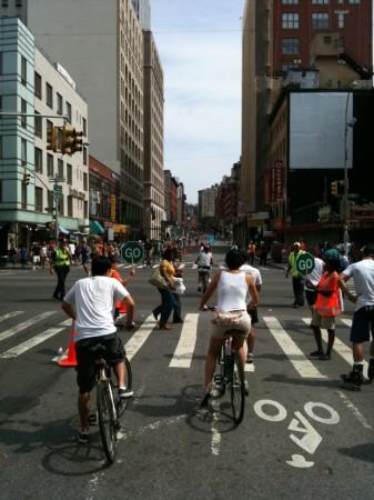 Summer Streets, New York City (Photo Courtesy of Greg Manter)