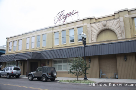 Regas, Old Hotel Portion, Corner of Gay and Magnolia, Knoxville, October 2013