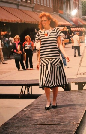 Reruns Boutique Model on Market Square, Knoxville, 1990s