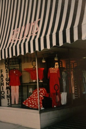 Reruns Boutique New Awning on Union Avenue, Knoxville, 1991
