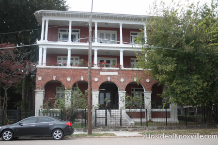 Sterchi Home on Fifth Avenue, Knoxville, October 2013