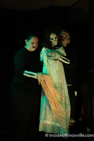 Theatre Obsolete Halloween Production, Mary Boyce Temple House, Knoxville, October 2013