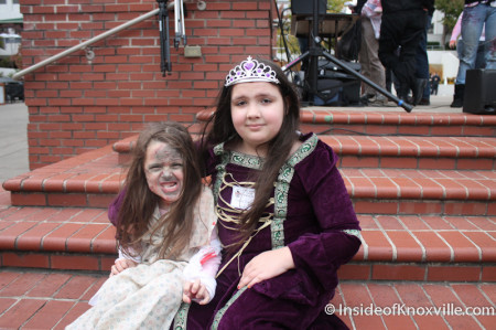 Child Zombies, Market Square, Knoxville, October 2013