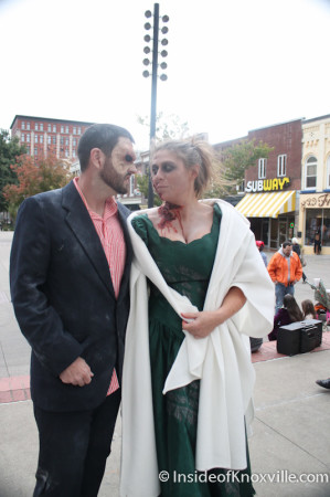 Zombie Love, Market Square, Knoxville, October 2013