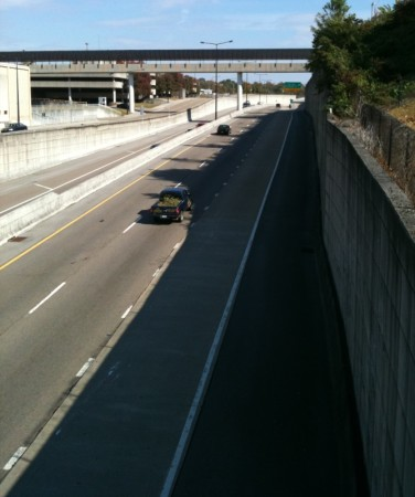 James White Parkway, Knoxville, October 2013 (Photo Courtesy of Greg Manter)