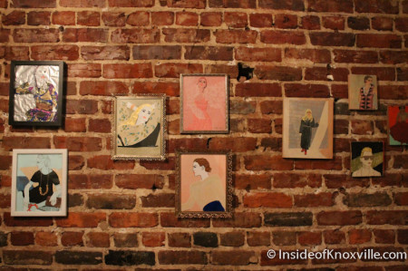 Beth Meadows, Art at Style of Civilization, First Friday Knoxvil
