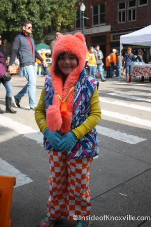Cutie, Too, on the Street, Market Square Farmers' Market, Knoxville, November 2013