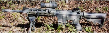 Weapon displayed on the Predator Site
