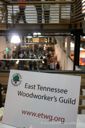 East Tennessee Woodworker's Guild, Showing at the Emporium, Knoxv