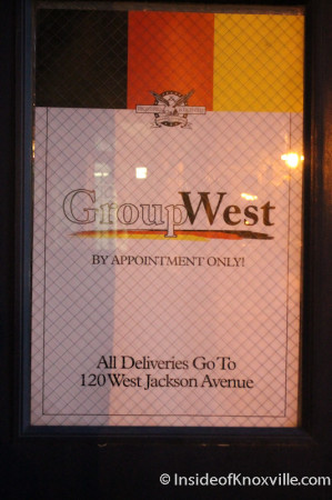 Group West, 126 Jackson Avenue, Knoxville, November 2013