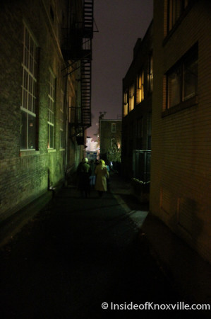 Haunted Knoxville Ghost Tour with J. Adam Smith, Knoxville, November 2013